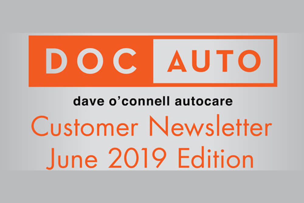 Customer Newsletter June 2019 Edition